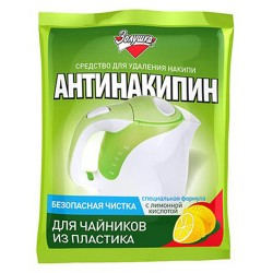 Антинакипин для пластиковых чайников, 75 г, Золушка