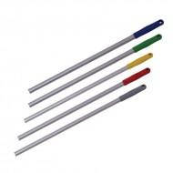 Ручка-палка для флаундера, 140см. ЛЮКС (цвет наконечника  красный)