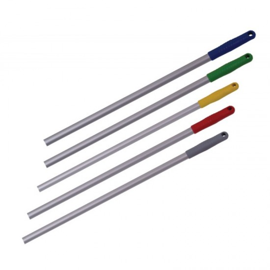 Ручка-палка для флаундера, 140см. ЛЮКС (цвет наконечника желтый)