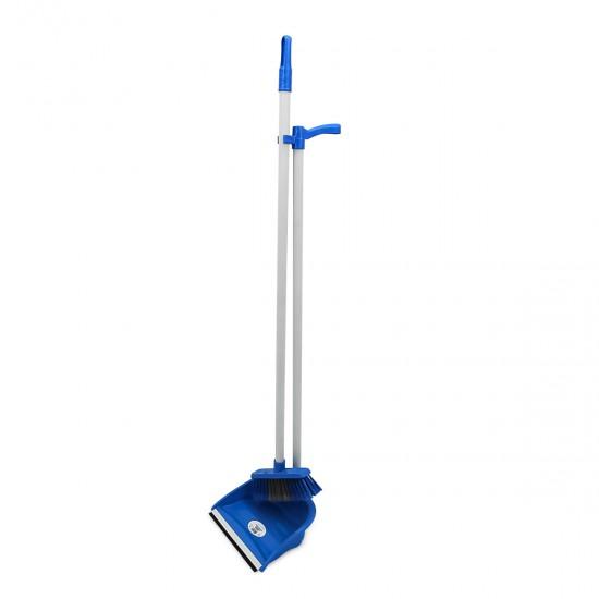 Совок с метлой для пола ЭКО(AF201) синий, шт AF201-с