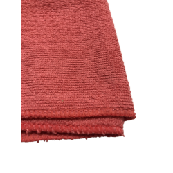 Микрофибра махра 220г красная салфетка 30*30см