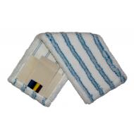 МОП - плоский-микрофибра, мягкий абразив, карман+стропа, 50см.