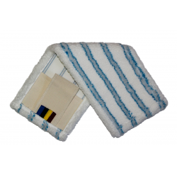 МОП - Плоский-микрофибра, мягкий абразив, карман+стропа, 40см.