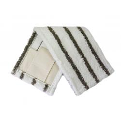 МОП - Плоский-микрофибра, жесткий абразив, карман+стропа, 40см.