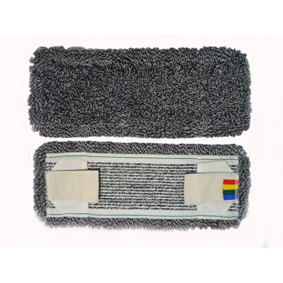 МОП - плоский-тафтинговый - Эконом, темный, Х/Б, тафтинг, ворс: Х/Б, ткань основы: полиэфир, крепление: карман+стропа, 50см.