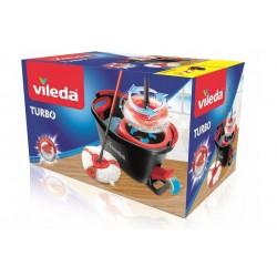 Vileda / Набор для уборки Турбо (швабра + ведро с педальным отжимом)